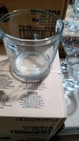 Hielera de vidrio