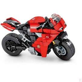 Bloques De Construcción Educativos Moto Ducati