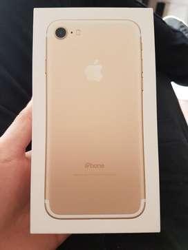 Iphone 7 dorado 32gb