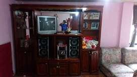 Mueble de sala puro madera