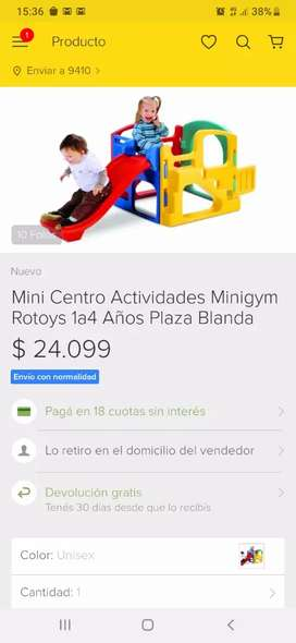 Centro de actividades rotoys