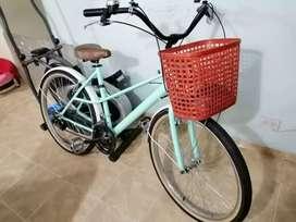 Bicicleta playera negociable ke