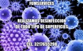 Desinfeccion y control de plagas