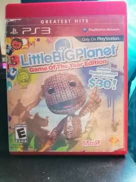 Juego little bigplanet ps3