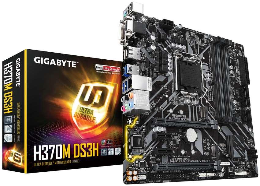 Motherboard Gigabyte H370m Ds3h (1151) 8va Y 9na Generación 0