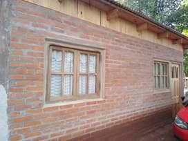 Chacra 2 hectáreas con casa de material 3 habitaciones