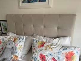 Espaldar cama doble