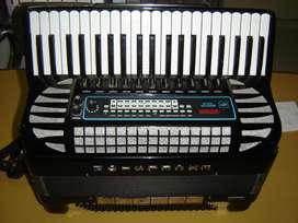 ACORDEON EXCELSIOR 120 EN 4TA Y 5TA, CON MIDI AFINADO EXCELENTE