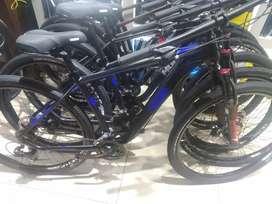Bicicleta mgm 29 disco mecánico 21v cableado interno