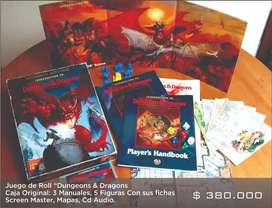 Juego de Roll Dungeons and Dragons