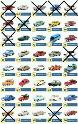 Autos inolvidables argentinos. Escala 1/43