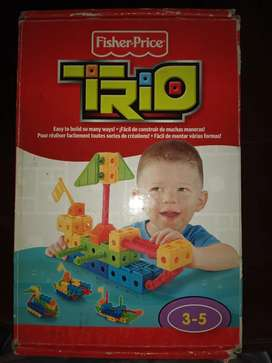 Fisher price trío lancha