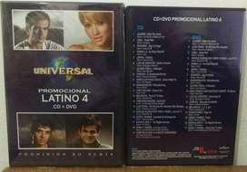 CD +DVD Latino 4