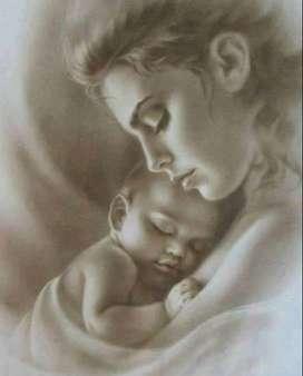 Regala un retrato a Mamá, arte personalizado