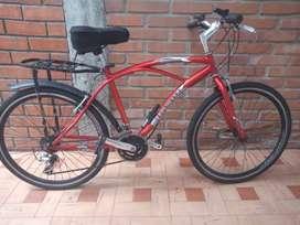 Bicicleta para mujer 18 velocidades