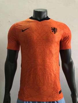 Camiseta local de Holanda versión jugador