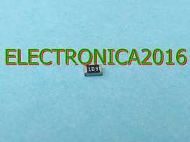 100x Resistencia 103 Smd 0805 10k Ohm Superficial 2mmx1.2mm