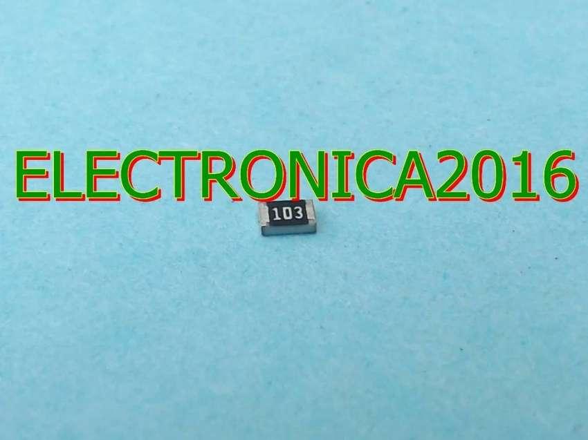 100x Resistencia 103 Smd 0805 10k Ohm Superficial 2mmx1.2mm 0