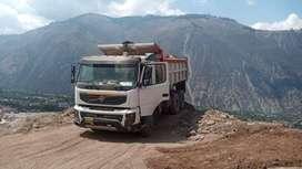 camión volquete volvo fmx 2011 440hp