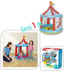 Fisher Price Circo Inflable Con 25 Pelotas little tikes play doh