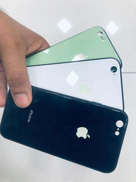 Case de vidrio (neon) brilla la manzana (iphone6/6s)