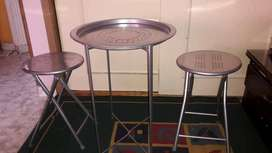 Set mesa + sillas