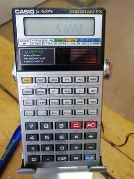 Calculadora fx-3600p de celda solar programable científica