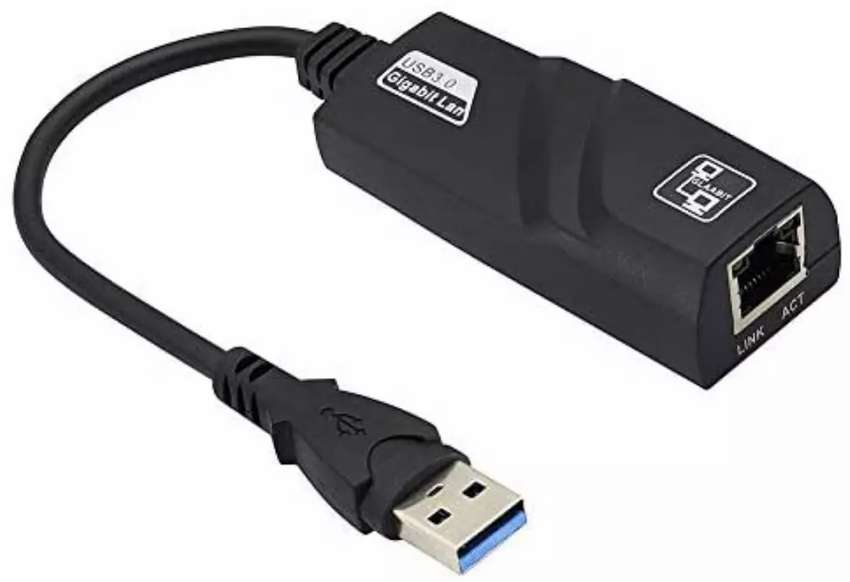 ADAPTADOR USB 3.0 A ETHERNET GIGABIT PLUG & PLAY 0