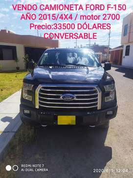 Vendo camionetasa Ford f-150/4X4/exelente estado