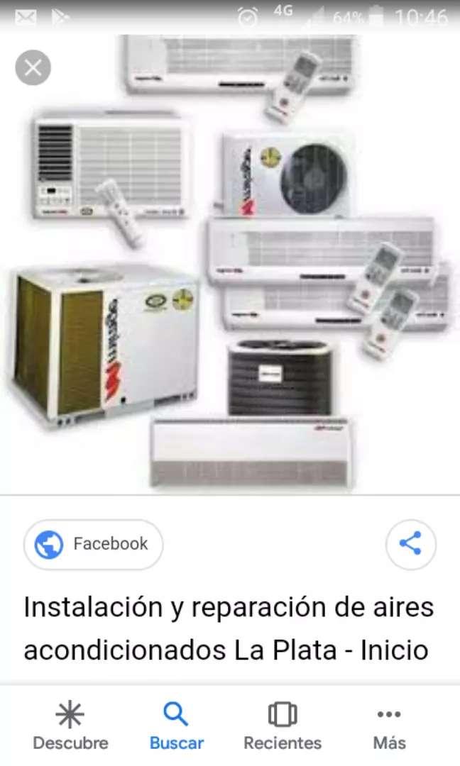 instalacion de aires acondicionados jente especialisadas en el rubro 0