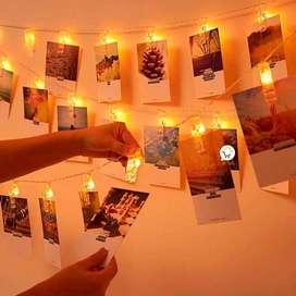 Luz LED Pinza fotos x 20