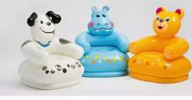 Silla inflable de animales