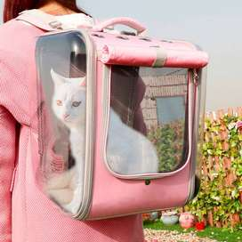 Bolso para trasladar gatos y perros pequeños – Con malla