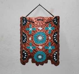 Bolsa cerámica para colgar, 21 cm x 16 cm