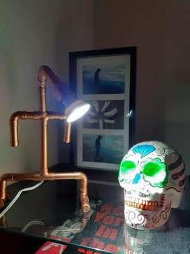 Artesanal lampara de cobre