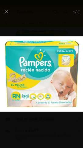 Pañal Pampers