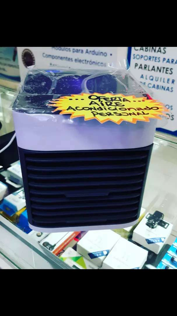 Aire acondicionado personal Portátil Conexión USB Refrigeración Por Agua 0