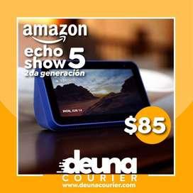 Nuevo Echo Show 5 (2da generación, edición 2021) - Pantalla inteligente HD Alexa y cámara de 2 MP - Negro
