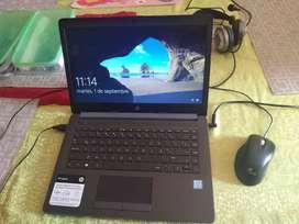 Vendo laptop HP 14 pulgadas usada en buen estado