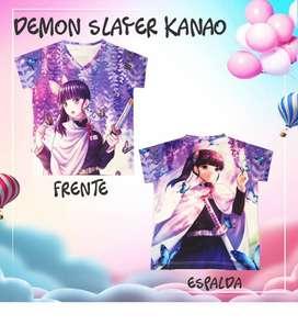 Camiseta Demon Slayer Kanao