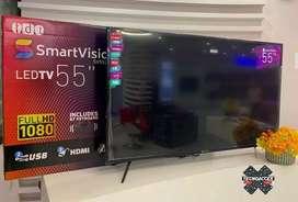 Televisor marca Smartvision de 55 pulgadas