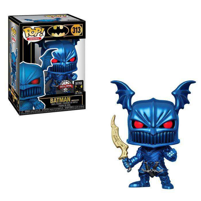 Funko Pop Batman Merciless Exclusivo efecto metalcio dios de la guerra 0