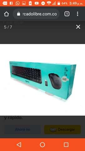 Se vende teclado marca Logitech super ganga