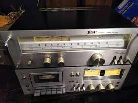 Sintonizador y deck BLAT