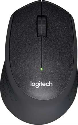 Mouse Inalambrico Logitech M330 Silent Plus Ergonomico Color Negro