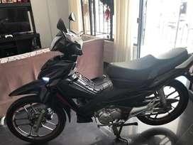 Venta de moto flex unico dueño colo nueva poco recorrido