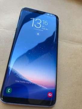 Samsung s8 con detalle