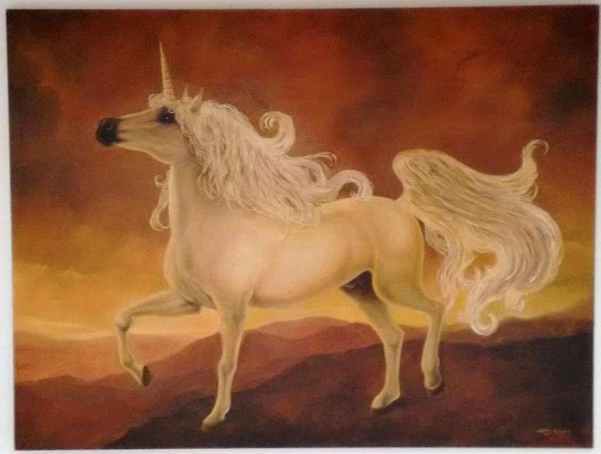 Pintura al óleo, 132cm x 100cm