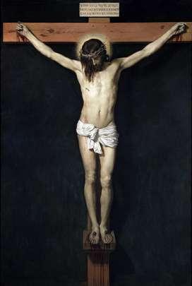 Lienzo Tela Canvas Cristo Crucificado Diego Velázquez 1632