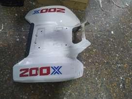 Cacha Trasera Cuatriciclo Honda TXR 200 Mexicano. Fibra de Vidro Usado